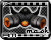 [AM] Gas Mask Orange