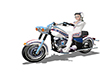 Evil Knievel Bike 40%