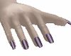 Ezra Purple Nails