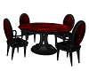 Black and Red Table