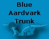 Blue Aardvark Trunk