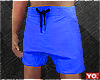Yo.| Blue Summer Shorts