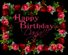 Danja Bday Sign
