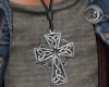 Celtic Cross Necklace-M