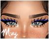 m. Blue cat liner