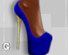 Royal Blue Heels