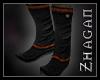 [Z] Hanfu Boots redgold