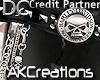 (AK)chained harley belt
