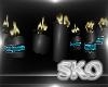 *SK*Dark Candles