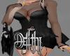 romance black dress