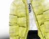 yellow padded coat ☢