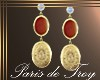 PdT Aztec Earrings Gold