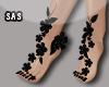 Fancy Small Feet Black