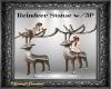 Reindeer Statue w/ 3P