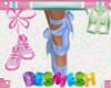 Ballet Shoes - Blue