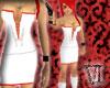 Sexy - White/Red Dress