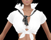 White School Girl Top