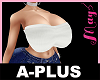A-PLUS Bimbo Top White