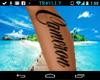 Cam Custom tattoo