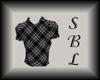 {SBL} Black & Grey Polo