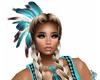 Native Sexy Blu Earrings