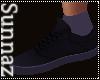 (S1)Black Purple Shoe