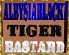 insegna alby tiger