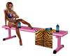 Pink Gym Bench