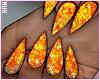 Glitz Nails | Orange