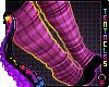 ★ Grape Paw Socks F