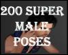 200 SUPER MALE POSES