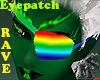 Rave Rainbow Eyepatch M