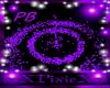 Purple particle blast
