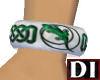 DI Green Celtic Bangle