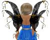 Pixie Wing Black W Gold1