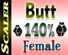 Butt / Hip Resizer 140%