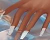 Diamond Wedding Nails