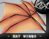 -LEXI- Bat Wings: Peach