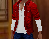 (JJ) Red w/White Shirt