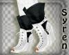 Boots White n Black