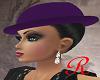 """""""RD"""" Top Hat w Hair"""