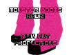 (PA) Pink Monster Boots