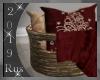 Rus: Ruby Pillow Basket