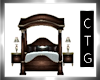CTG ANTIQUE BED /POSES