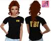 FBI T-Shirt Yellow