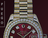 Red Rolex Presidential