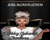 AVRIL blond platinum