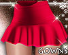 Sweeet Vday Skirt Red L