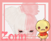 Ace Bow Blonde/Pink~Z~