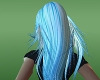 blue electric long hairf